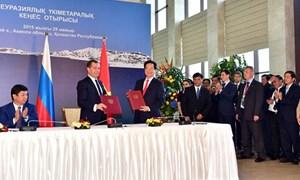 Việt Nam chính thức ký FTA với các thành viên Liên minh kinh tế Á – Âu