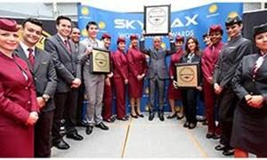 Qatar Airways nhận 3 giải thưởng quốc tế danh giá