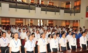 Chào cờ, hát Quốc ca: Nét văn hóa của Cục Thuế TP. Hà Nội