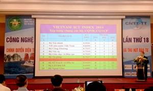 Bộ Tài chính dẫn đầu Vietnam ICT Index 2015