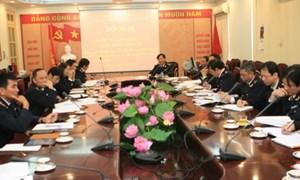 Đảng bộ Cục Hải quan TP. Hà Nội: Tổ chức Hội nghị Ban Thường vụ