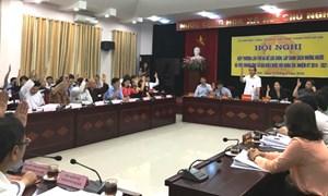 TP. Hồ Chí Minh và Hà Nội: Chốt danh sách người ứng cử đại biểu Quốc hội