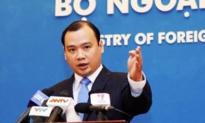 Việt Nam kêu gọi các bên kiềm chế, tôn trọng luật pháp quốc tế