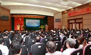 Tổ chức hội nghị nâng cao kỹ năng xử lý thông tin tuyên truyền