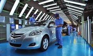 Ngành ô tô Việt đã sản xuất được gương, kính...