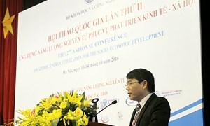 Việt Nam có khoảng 1.300 người làm việc trong lĩnh vực năng lượng nguyên tử