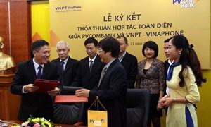 PVcomBank ký kết thỏa thuận hợp tác toàn diện với Vinaphone