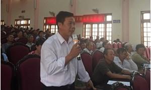 BHXH Việt Nam đối thoại trực tiếp chính sách với nông dân