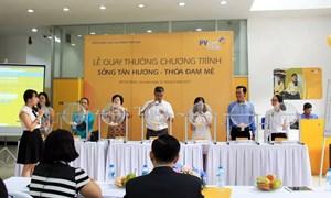 """16 khách hàng trúng giải thưởng Chương trình """"Sống tận hưởng - Thỏa đam mê"""" của PVcomBank"""