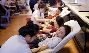 Gần 400 nhân viên Khu du lịch Sun World Ba Na Hills tham gia hiến máu nhân đạo
