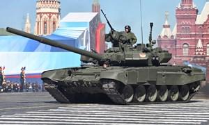 """[Infographic]: """"Xe tăng bay"""" T-90 của lục quân Nga"""