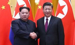 [Infographic] 4 lần Kim Jong-un tới Trung Quốc gặp Tập Cận Bình