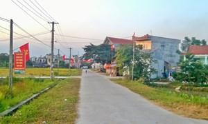 Xây dựng nông thôn mới tại thành phố sông công, tỉnh Thái Nguyên