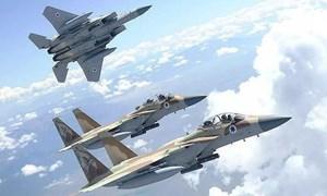 Israel tiếp tục không kích dữ dội Syria, S-300 đã mất tác dụng?