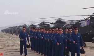 Trung Quốc khoe phi đội trực thăng tấn công