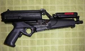 """Hình ảnh tiểu liên Calico M950 với hộp tiếp đạn """"có một không hai"""""""