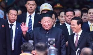 Chủ tịch Triều Tiên đến Việt Nam trên đoàn tàu bọc thép