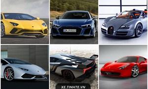 10 Siêu xe được tìm kiếm nhiều nhất trên thế giới
