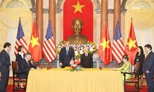 [Infographic] Việt Nam - Mỹ ký kết các thỏa thuận kinh tế trị giá 21 tỷ USD