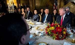 Thực đơn Donald Trump dùng bữa với các nhân vật quyền lực