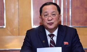 [Infographic] Thượng đỉnh Mỹ - Triều lần 2: Nội dung cuộc họp báo của Ngoại trưởng Triều Tiên Ri Yong-ho