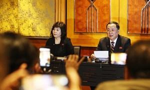 [Video] Triều Tiên họp báo lúc nửa đêm nói chỉ đề nghị Mỹ dỡ bỏ một phần lệnh cấm vận