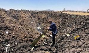 [Infographic] 6 phút trên không của máy bay rơi ở Ethiopia