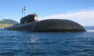 [Video] Tàu ngầm dài nhất thế giới mang siêu ngư lôi hạt nhân của Nga