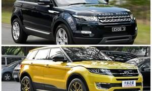 Ô tô Trung Quốc nhái xe sang sẽ bị coi là hàng giả nếu về Việt Nam