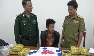 [Video] Biên phòng Điện Biên bắt 90.000 viên ma túy tổng hợp trên đất Lào