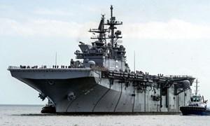 [Infographic] Tàu đổ bộ tấn công lớp Wasp mạnh như thế nào?