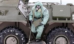 Cận cảnh dàn vũ khí uy lực của lực lượng phòng hóa Nga
