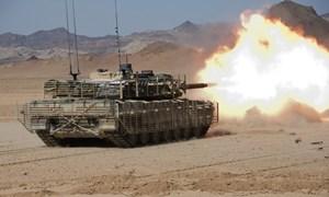 Xe tăng chủ lực Leopard 2A6 của Đức uy lực hàng đầu thế giới