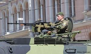 Sức mạnh đáng sợ của súng máy hạng nặng NSV 12.7mm Nga