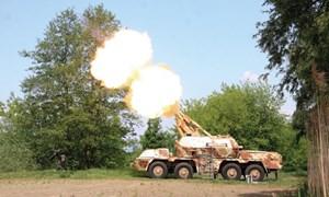 """""""Mổ xẻ"""" sức mạnh pháo tự hành DANA-M1 của Cộng Hòa Séc"""