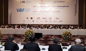 VBF 2018: Cần sự đồng hành của doanh nghiệp với Chính phủ