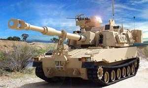 Uy lực pháo tự hành có khả năng phòng không M109A7 Paladin