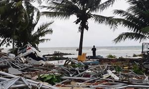 [Infographic] Sóng thần tấn công Indonesia, ít nhất 168 người thiệt mạng
