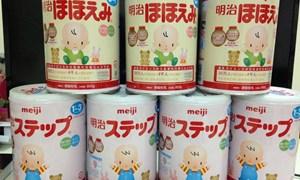 Tổng cục Hải quan phản hồi trước cảnh báo sữa Meiji giả của Nhật Bản