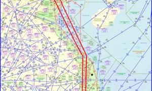 Chính thức khai thác hệ thống đường bay RNAV5 trục Bắc – Nam