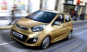 Kia Morning đứng đầu trong Top 10 xe bán chạy nhất tháng 8