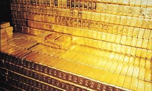 Dự trữ vàng của các nước tăng gần 10% kể từ sau năm 2008