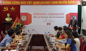 Viện Đào tạo quốc tế khai giảng khóa 6 Thạc sỹ Tài chính và Đầu tư