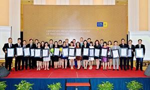 CPA Australia vinh danh tân hội viên và hội viên cao cấp tại Việt Nam