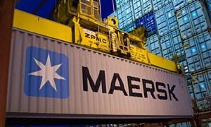 Lợi nhuận hãng vận tải biển lớn nhất thế giới giảm nửa