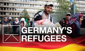 """Người tị nạn đang trở thành """"gánh nặng"""" ngân sách cho Đức"""