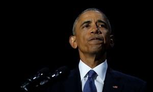 Toàn văn bài phát biểu chia tay của ông Obama