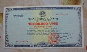 Huy động 6.815 tỷ đồng trái phiếu Chính phủ