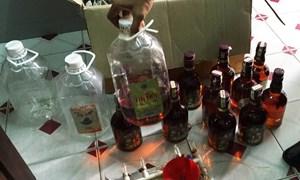 Thắt chặt quản lý đối với rượu không rõ nguồn gốc, xuất xứ