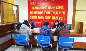 Từ 23/3 - 1/4: Hà Nội mở thêm điểm tiếp nhận hồ sơ quyết toán thuế năm 2016